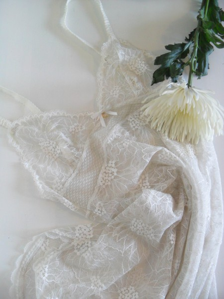 Review of Chantelle Opera lace chemise