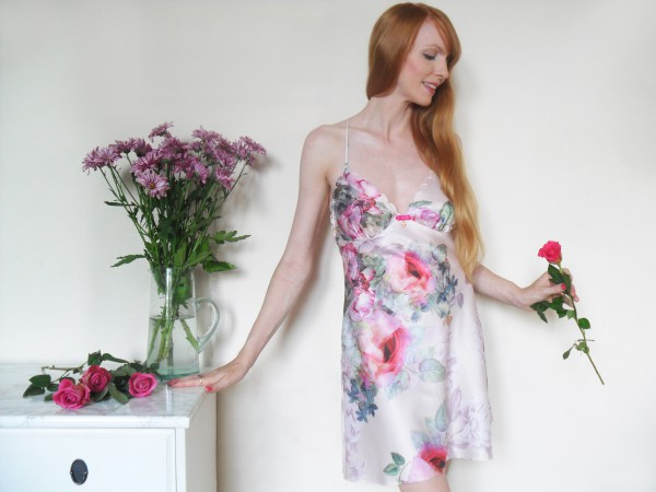 ted baker floral chemise review low res