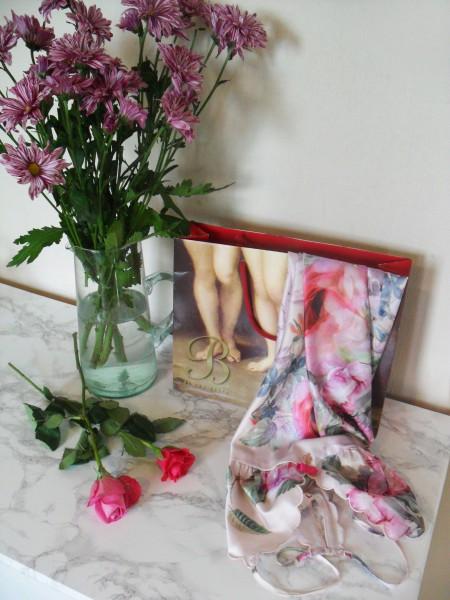 ted baker floral chemise